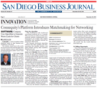 San Diego Business Journal  (US) - 52 iss/yr (To US Only)