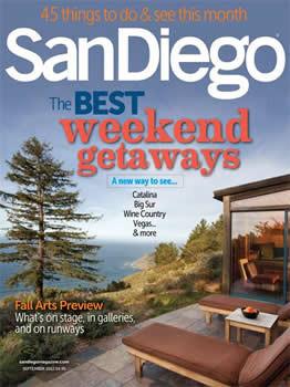 San Diego Magazine Subscription (US) - 12 iss/yr