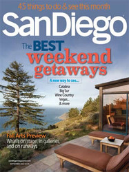San Diego Magazine  (US) - 12 iss/yr (To US Only)