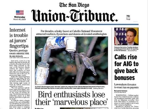 San Diego Union Tribune Magazine Subscription (US) - 365 iss/yr