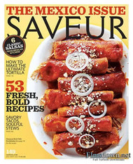 Saveur Magazine  (US) - 9 iss/yr (To US Only)
