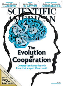 Scientific American Magazine  (US) - 12 iss/yr (To US Only)