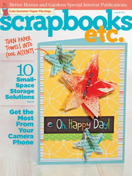 Scrapbooks Etc Magazine Subscription (US) - 8 iss/yr