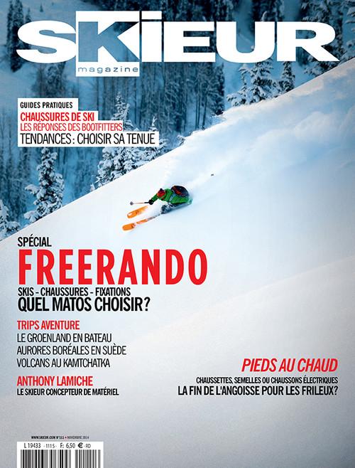 Skieur Magazine Subscription (France) - 6 iss/yr