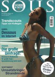 Sous Magazine  (Germany) - 4 iss/yr (To US Only)