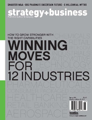 Strategy + Business Magazine  (US) - 4 iss/yr (To US Only)