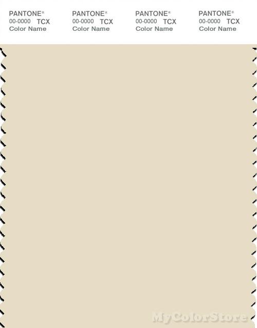 PANTONE SMART 12-0804X Color Swatch Card, Cloud Cream