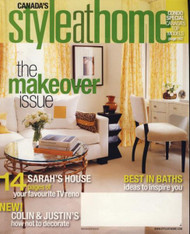 Style at Home Magazine  (Canada) - 12 iss/yr (To US Only)