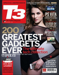 T3 Magazine  (UK) - 12 iss/yr (To US Only)