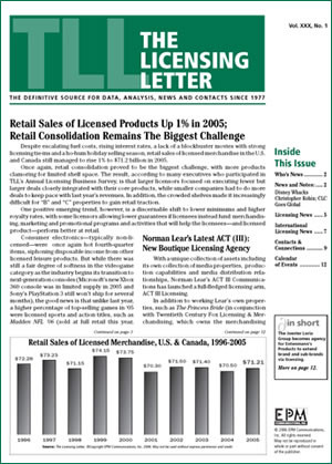 The Licensing Letter Magazine Subscription (US)