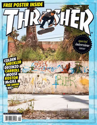Thrasher Magazine Subscription (US) - 12 iss/yr