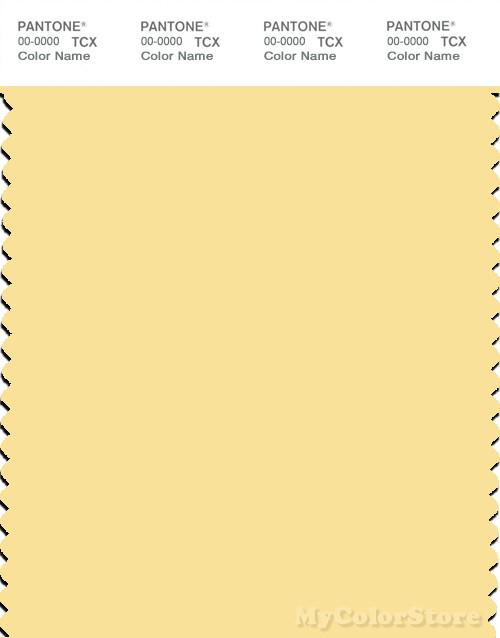 PANTONE SMART 12-0824X Color Swatch Card, Pale Banana
