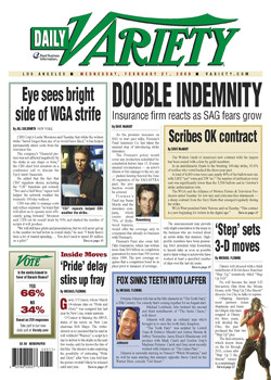 Variety Daily Magazine Subscription (US) - 260 iss/yr