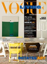 Vogue Living Magazine  (Australia) - 6 iss/yr (To US Only)  Via Air