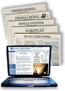 Wall St. Journal - Online  (US) - 260 iss/yr (To US Only)