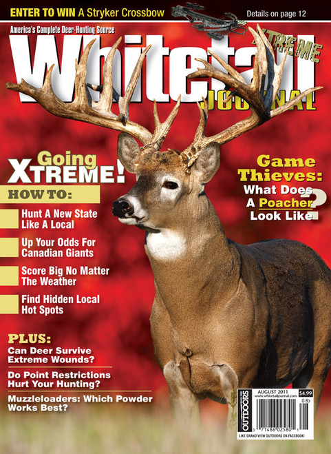 Whitetail Journal Magazine Subscription (US) - 6 iss/yr