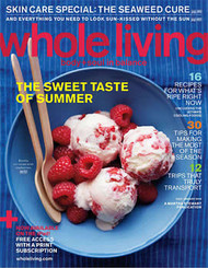 Whole Living Magazine Subscription (US) - 8 iss/yr