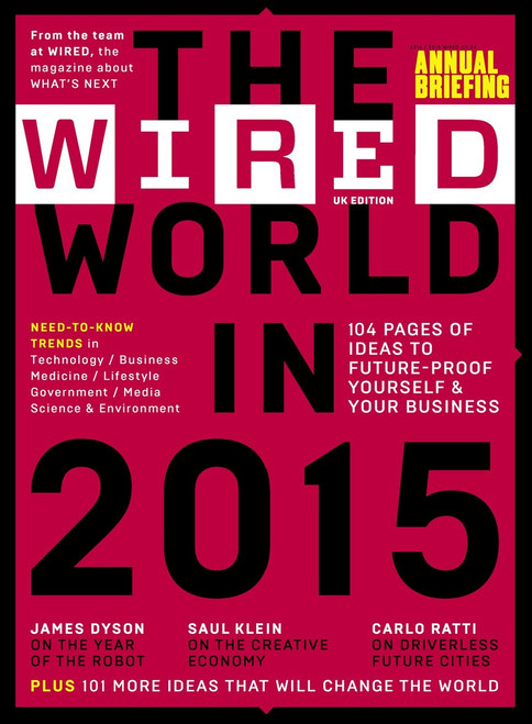 WIRED Magazine Subscription (UK) - 12 iss/yr