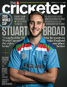 Wisden Cricket Monthly (Aka Cricketeer Intl)  - 12 iss/yr (To US Only)