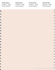 PANTONE SMART 12-1106X Color Swatch Card, Sheer Pink