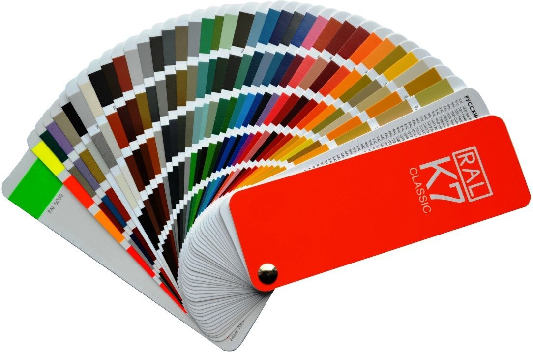 Ral K7 Classic Colour Chart Brand New Ral Fan Style Guide