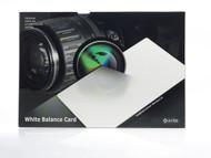 X-Rite ColorChecker White Balance Card | M50101