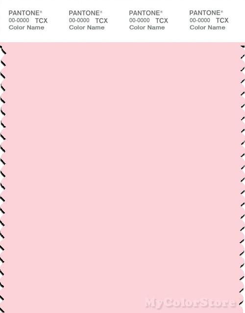 PANTONE SMART 12-1310X Color Swatch Card, Blushing Bride