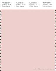 PANTONE SMART 12-1605X Color Swatch Card, Crystal Pink