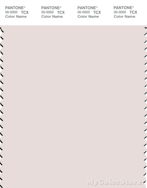 PANTONE SMART 12-2103X Color Swatch Card, Almost Mauve
