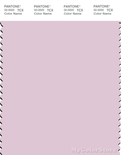 PANTONE SMART 12-2903X Color Swatch Card, Light Lilac