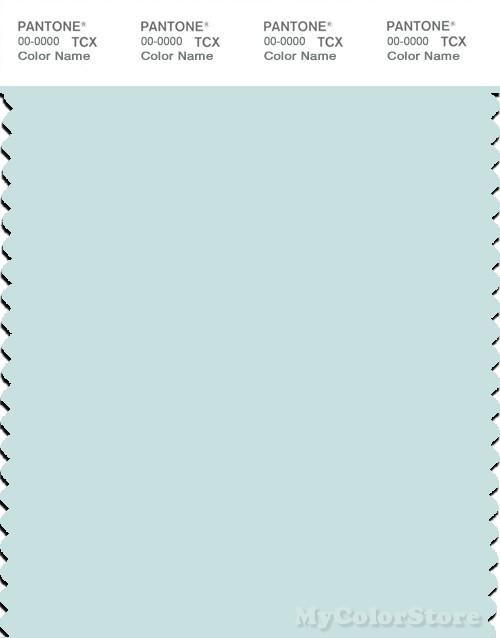PANTONE SMART 12-4604X Color Swatch Card, Skylight