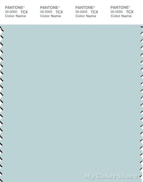 PANTONE SMART 12-4607X Color Swatch Card, Pastel Blue