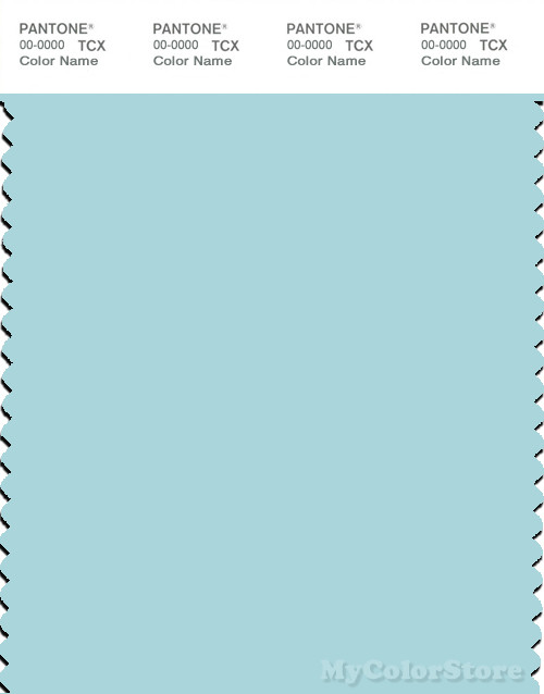 PANTONE SMART 12-4608X Color Swatch Card, Clearwater