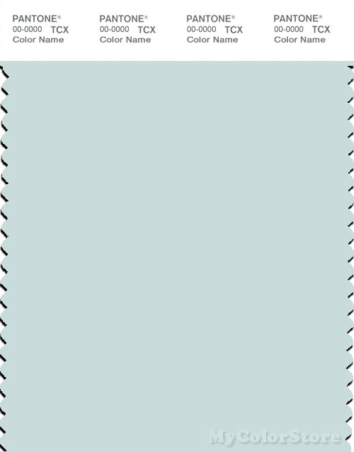 PANTONE SMART 12-4610X Color Swatch Card, Whispering Blue