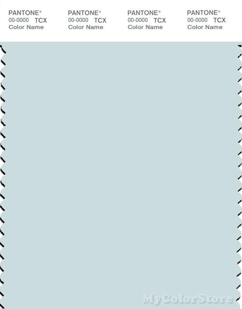 PANTONE SMART 12-4805X Color Swatch Card, Wan Blue
