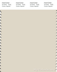 PANTONE SMART 12-5202X Color Swatch Card, Turtledove
