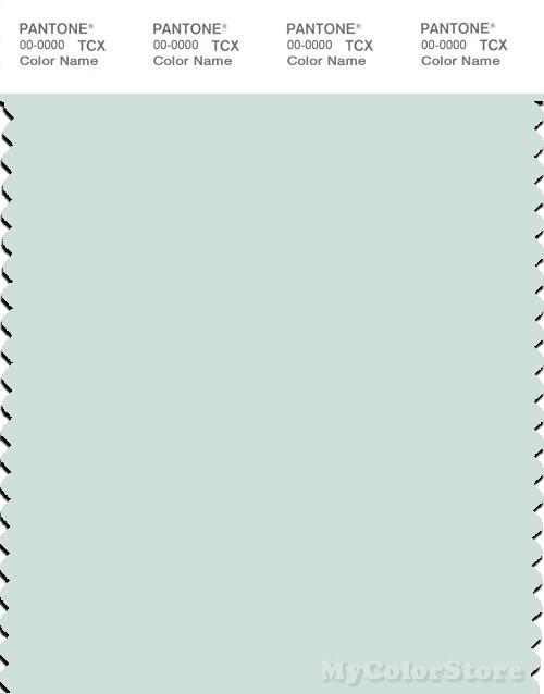 PANTONE SMART 12-5204X Color Swatch Card, Morning Mist