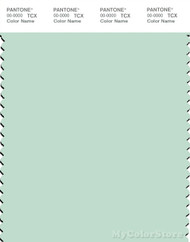 PANTONE SMART 12-5506X Color Swatch Card, Dusty Aqua
