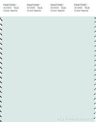 PANTONE SMART 12-5508X Color Swatch Card, Hushed Green