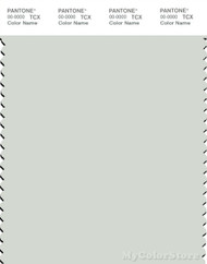 PANTONE SMART 12-5603X Color Swatch Card, Zephyr Blue