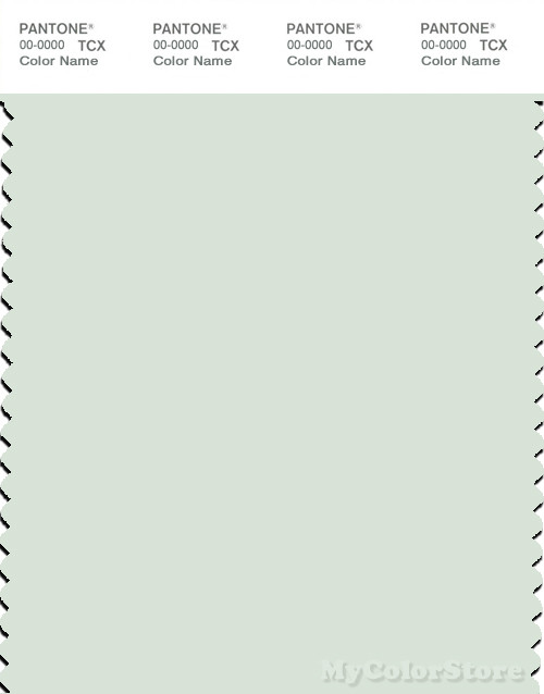 PANTONE SMART 12-6206X Color Swatch Card, Fairest Jade