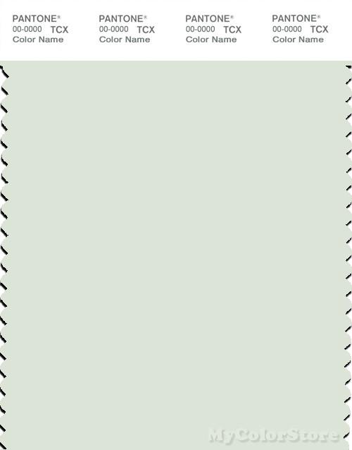PANTONE SMART 12-6208X Color Swatch Card, Phantom Green