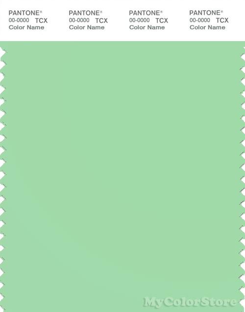 PANTONE SMART 13-0117X Color Swatch Card, Green Ash