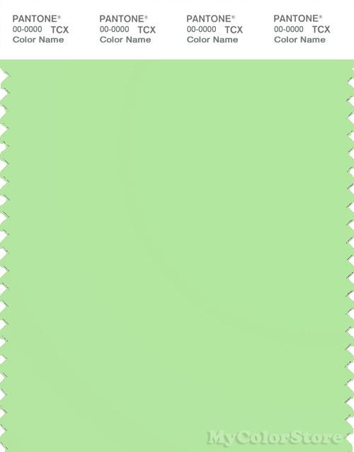 PANTONE SMART 13-0220X Color Swatch Card, Paradise Green