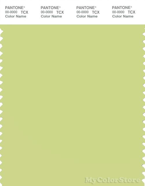 PANTONE SMART 13-0530X Color Swatch Card, Lime Sherbet