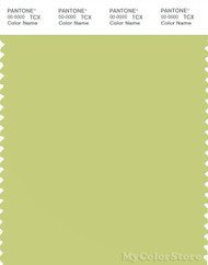 PANTONE SMART 13-0532X Color Swatch Card, Celery Green