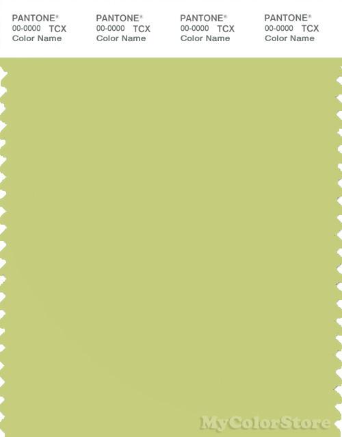 PANTONE SMART 13-0532X Color Swatch Card, Celery Green
