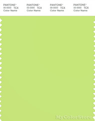 PANTONE SMART 13-0535X Color Swatch Card, Sharp Green