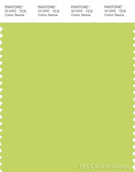 PANTONE SMART 13-0540X Color Swatch Card, Wild Lime
