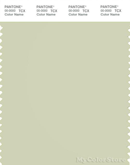 PANTONE SMART 13-0608X Color Swatch Card, Aloe Wash